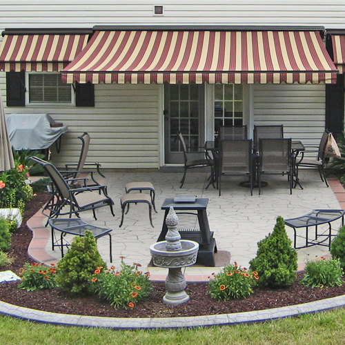 Awnings Bring Personal Style And Custom Design Details To Your Home Or Commercial Building Add Drama Beauty The Exterior Of