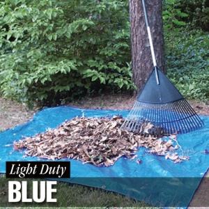 Dize Weathermaster Light Duty Blue Poly Tarps