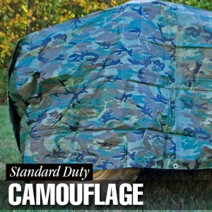 Dize Weathermaster Standard Duty Camouflage Poly Tarp