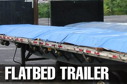 Flatbed Trailer Custom Tarp Cover