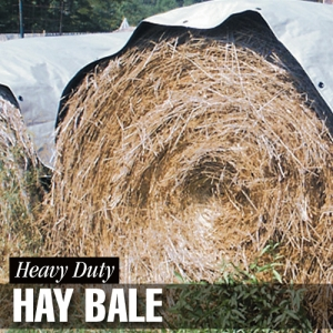 Dize Weathermaster Heavy Duty Silver/Black Hay Bale Covers
