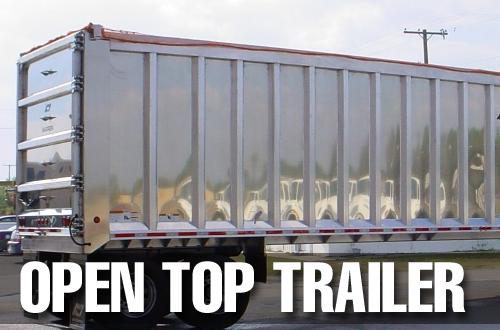 Custom Open Top Trailer Tarps