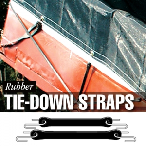 Dize Rubber Tie-Down Straps