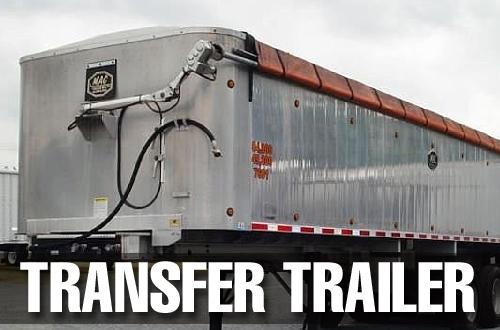 Transfer Trailer Custom Tarp Cover