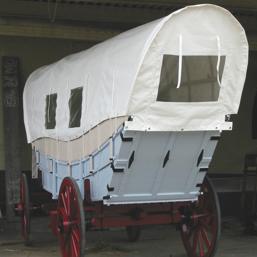 When Lewisville Needed A New Wagon Cover…