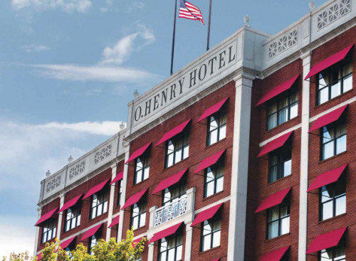 Dize O'Henry Hotel Project Makes News in Glen Raven Magazine